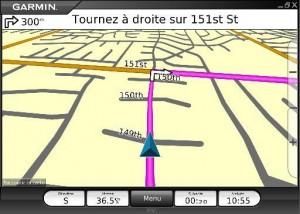 example de map dans Garmin mobile pc