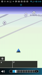 GPS Android tomtom map