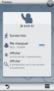 tracker application smartphone link
